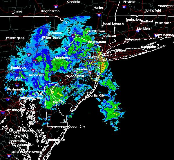 Radar Image for Severe Thunderstorms near Silver Ridge, NJ at 2/7/2020 11:40 AM EST