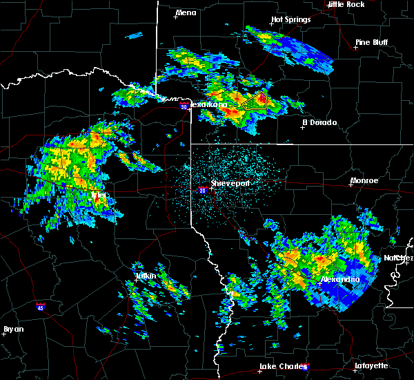 Radar Image for Severe Thunderstorms near Cale, AR at 2/9/2020 10:24 PM CST