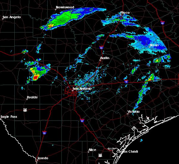 Radar Image for Severe Thunderstorms near Lake Medina Shores, TX at 2/10/2020 1:44 PM CST