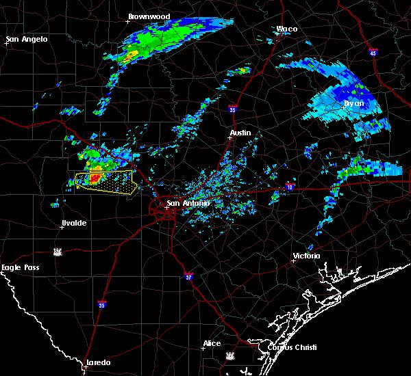 Radar Image for Severe Thunderstorms near Lake Medina Shores, TX at 2/10/2020 2:02 PM CST