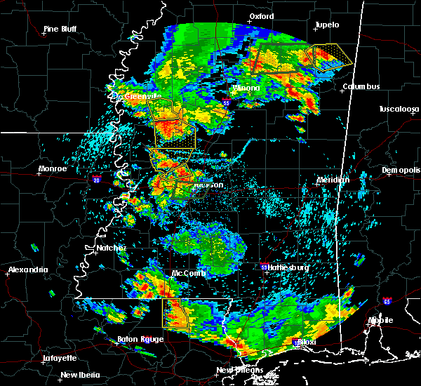 Radar Image for Severe Thunderstorms near Flora, MS at 6/24/2015 5:21 PM CDT