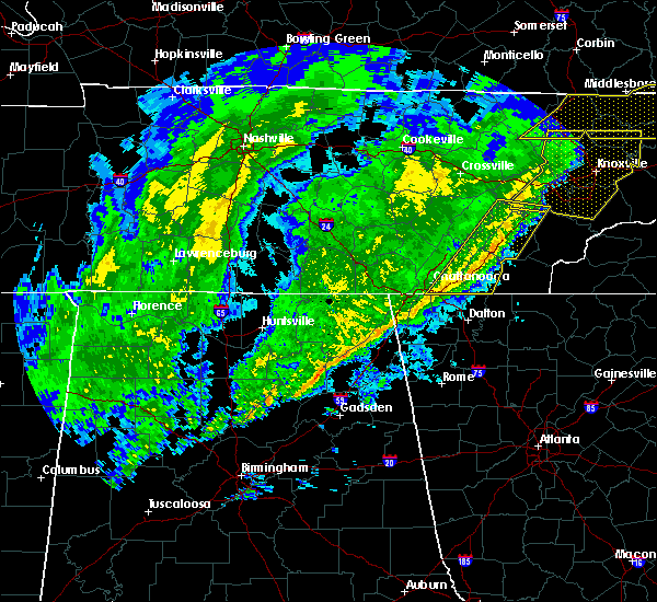 Radar Image for Severe Thunderstorms near Decatur, TN at 2/12/2020 9:34 PM EST