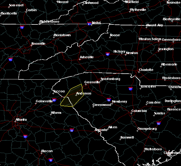 Radar Image for Severe Thunderstorms near Powdersville, SC at 2/13/2020 8:27 AM EST