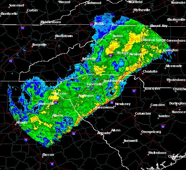 Radar Image for Severe Thunderstorms near Plum Branch, SC at 2/13/2020 9:32 AM EST