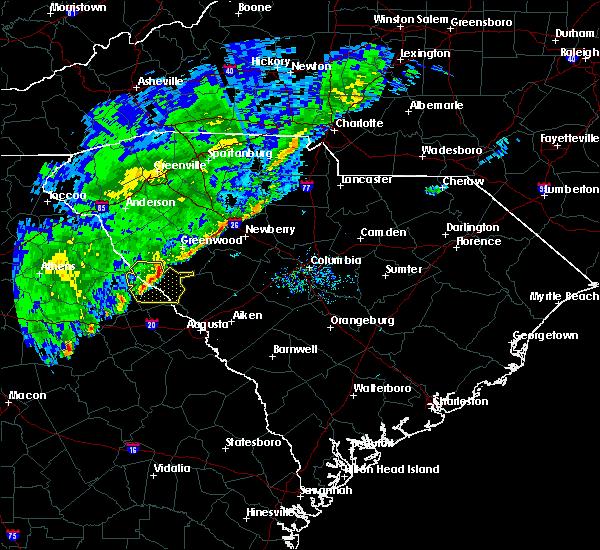 Radar Image for Severe Thunderstorms near Plum Branch, SC at 2/13/2020 9:48 AM EST