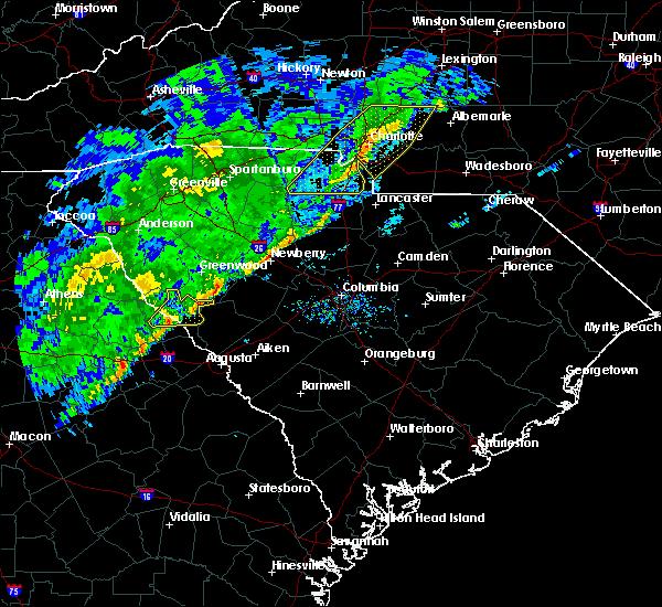 Radar Image for Severe Thunderstorms near Plum Branch, SC at 2/13/2020 10:10 AM EST