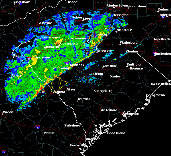 Radar Image for Severe Thunderstorms near Thomson, GA at 2/13/2020 10:19 AM EST