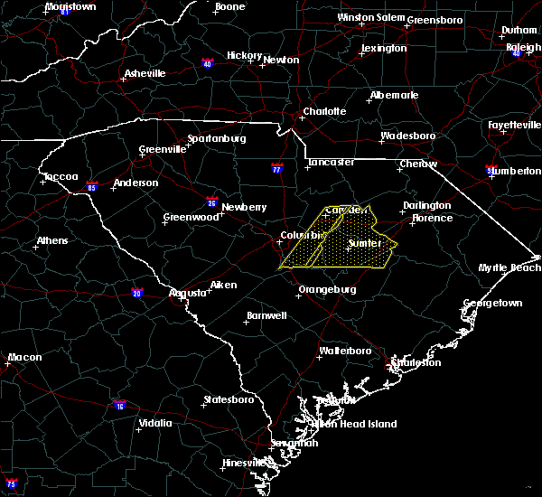Radar Image for Severe Thunderstorms near Gadsden, SC at 2/13/2020 12:28 PM EST