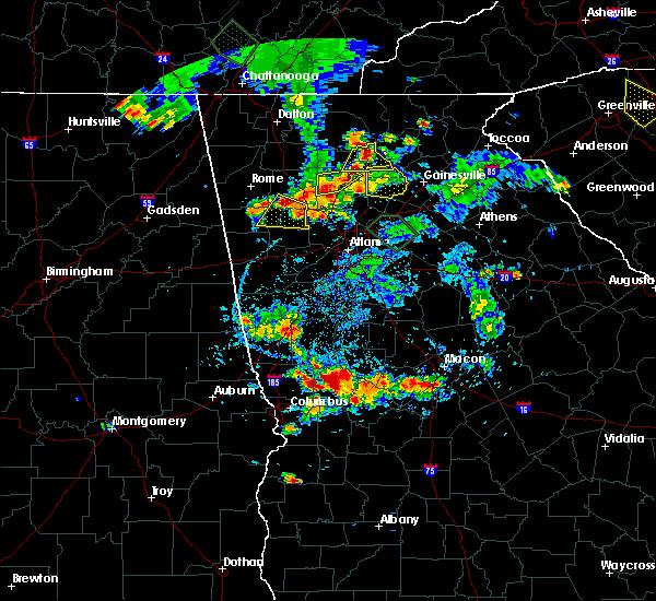 Radar Image for Severe Thunderstorms near Nelson, GA at 6/24/2015 6:37 PM EDT