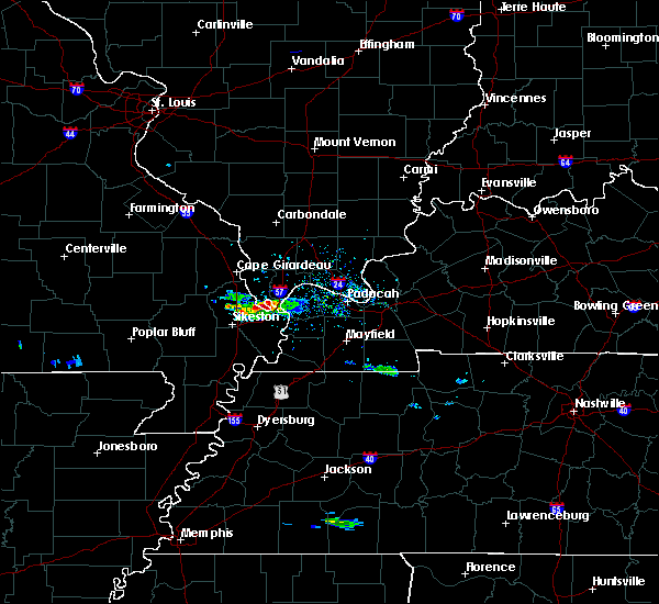 Radar Image for Severe Thunderstorms near Mound City, IL at 3/2/2020 4:31 PM CST