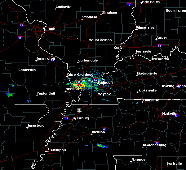 Radar Image for Severe Thunderstorms near Kevil, KY at 3/2/2020 4:54 PM CST