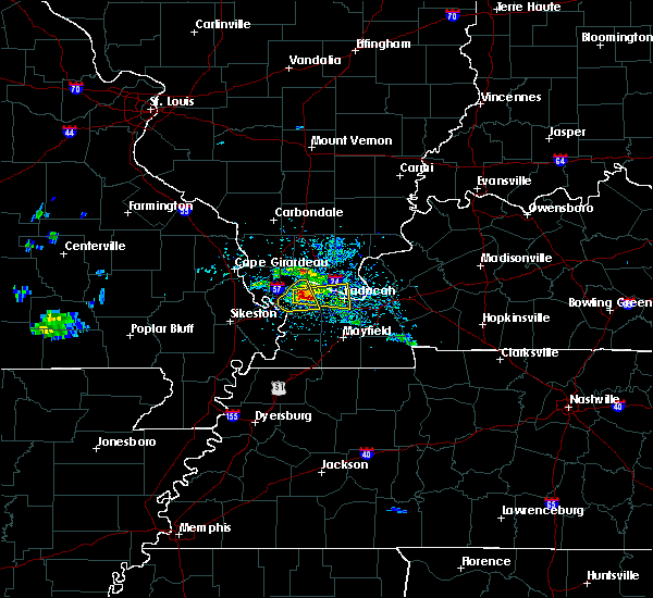 Radar Image for Severe Thunderstorms near Kevil, KY at 3/2/2020 5:16 PM CST