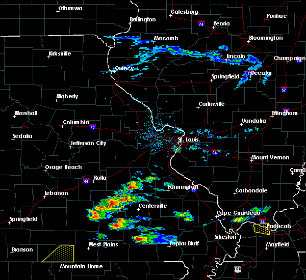 Radar Image for Severe Thunderstorms near Potosi, MO at 3/2/2020 5:50 PM CST
