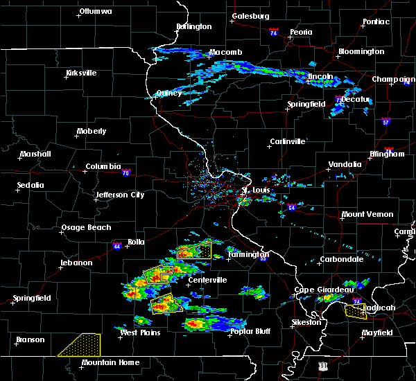 Radar Image for Severe Thunderstorms near Eminence, MO at 3/2/2020 5:54 PM CST