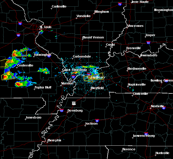 Radar Image for Severe Thunderstorms near Paducah, KY at 3/2/2020 5:56 PM CST