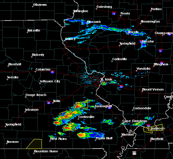 Radar Image for Severe Thunderstorms near Bunker, MO at 3/2/2020 5:59 PM CST