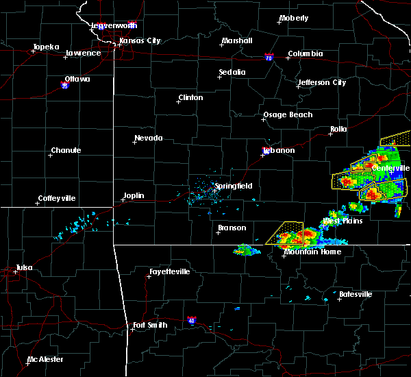 Radar Image for Severe Thunderstorms near Brandsville, MO at 3/2/2020 6:07 PM CST