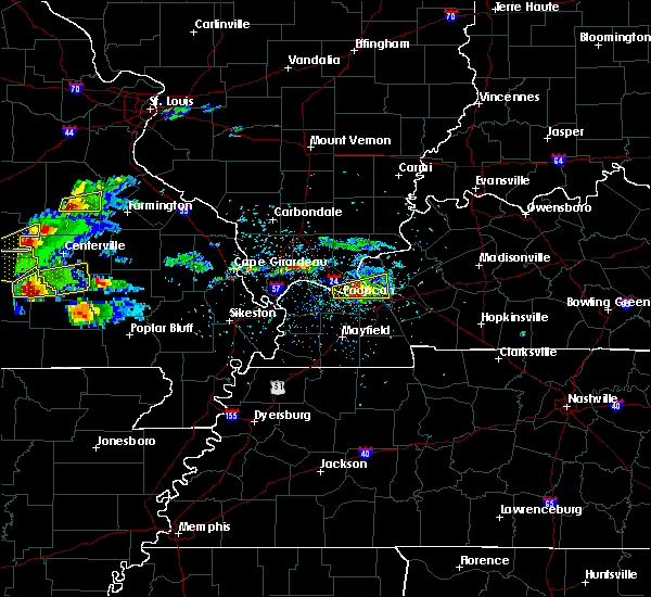 Radar Image for Severe Thunderstorms near Greenville, MO at 3/2/2020 6:08 PM CST