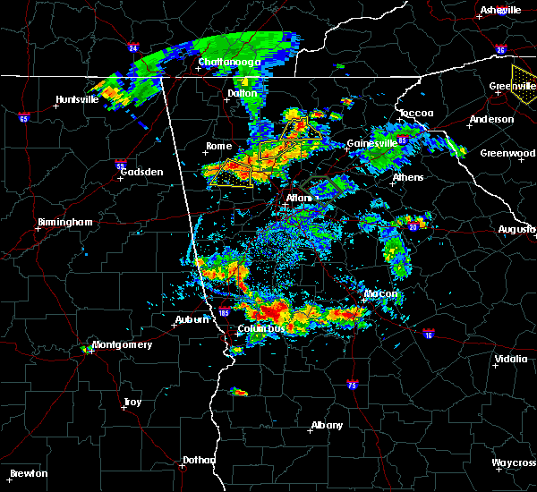 Radar Image for Severe Thunderstorms near Geneva, GA at 6/24/2015 6:43 PM EDT
