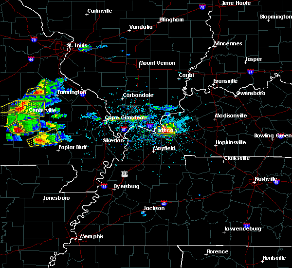 Radar Image for Severe Thunderstorms near Williamsville, MO at 3/2/2020 6:17 PM CST