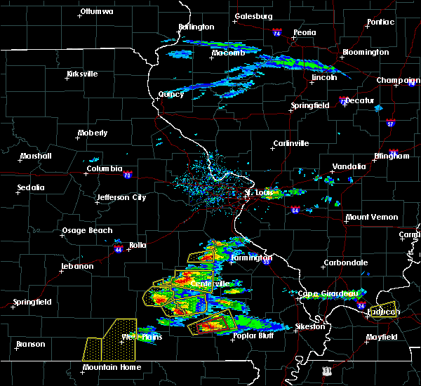 Radar Image for Severe Thunderstorms near Bunker, MO at 3/2/2020 6:24 PM CST