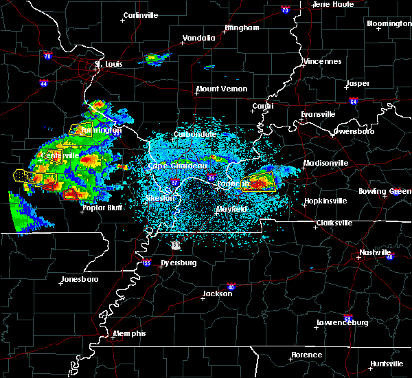 Radar Image for Severe Thunderstorms near Williamsville, MO at 3/2/2020 6:49 PM CST
