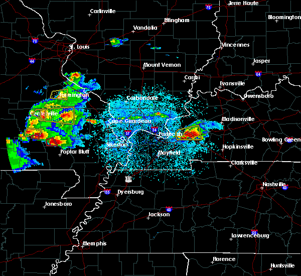 Radar Image for Severe Thunderstorms near Crayne, KY at 3/2/2020 6:55 PM CST