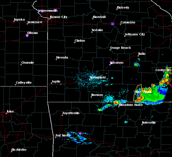 Radar Image for Severe Thunderstorms near Brandsville, MO at 3/2/2020 6:57 PM CST
