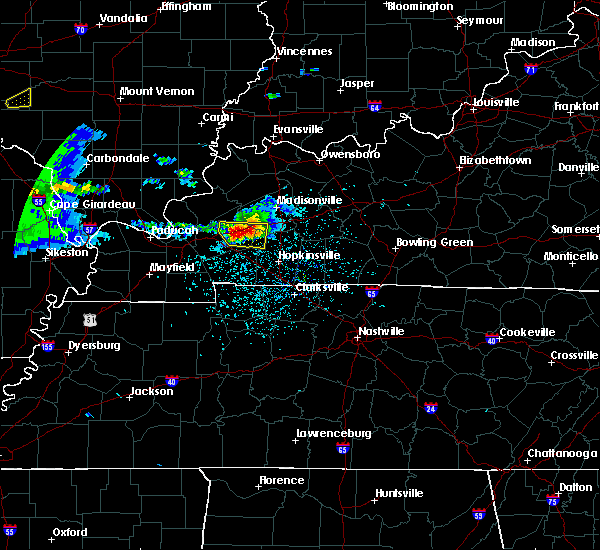 Radar Image for Severe Thunderstorms near Princeton, KY at 3/2/2020 7:23 PM CST