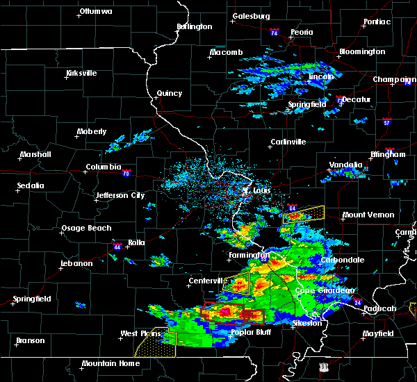 Radar Image for Severe Thunderstorms near Hoyleton, IL at 3/2/2020 7:39 PM CST