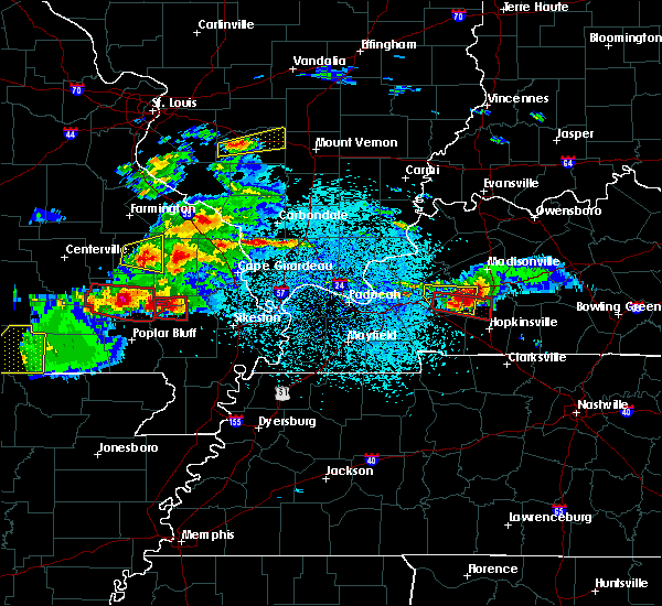 Radar Image for Severe Thunderstorms near Cherokee Pass, MO at 3/2/2020 7:39 PM CST