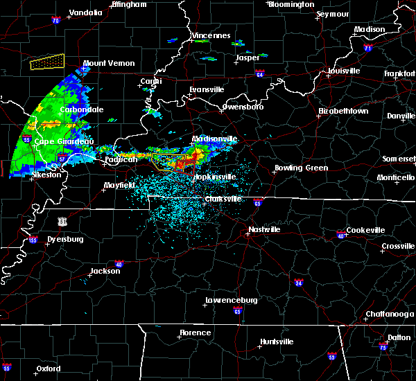 Radar Image for Severe Thunderstorms near Crofton, KY at 3/2/2020 7:49 PM CST