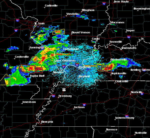 Radar Image for Severe Thunderstorms near Cherokee Pass, MO at 3/2/2020 7:54 PM CST