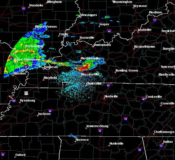 Radar Image for Severe Thunderstorms near Crofton, KY at 3/2/2020 8:09 PM CST
