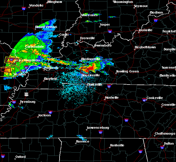 Radar Image for Severe Thunderstorms near Dunmor, KY at 3/2/2020 8:25 PM CST