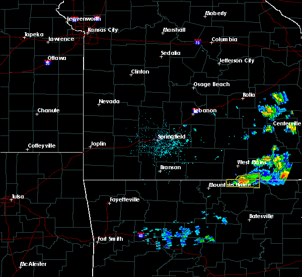 Radar Image for Severe Thunderstorms near Mammoth Spring, MO at 3/2/2020 8:26 PM CST