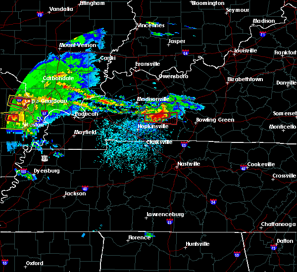 Radar Image for Severe Thunderstorms near Dunmor, KY at 3/2/2020 8:34 PM CST