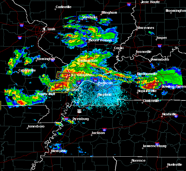 Radar Image for Severe Thunderstorms near Olive Branch, IL at 3/2/2020 8:37 PM CST