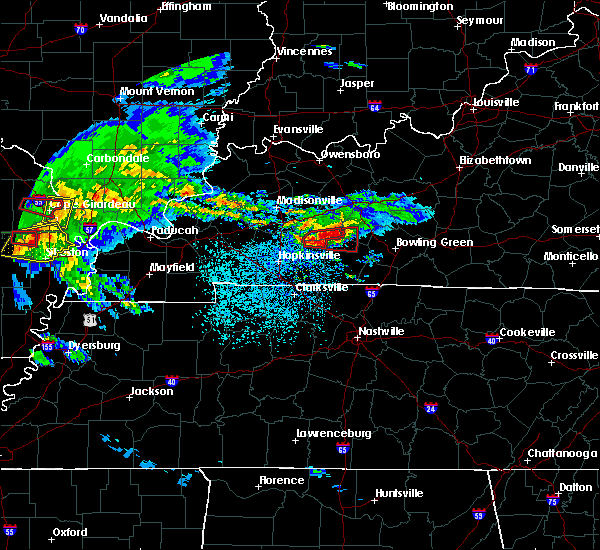 Radar Image for Severe Thunderstorms near Dunmor, KY at 3/2/2020 8:46 PM CST