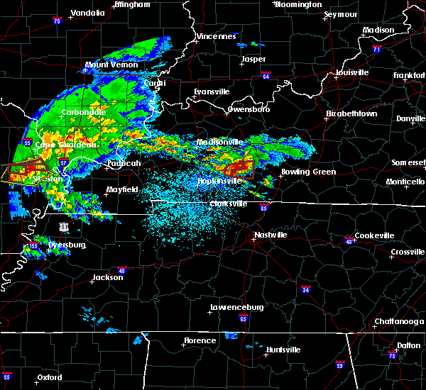 Radar Image for Severe Thunderstorms near Lewisburg, KY at 3/2/2020 8:51 PM CST
