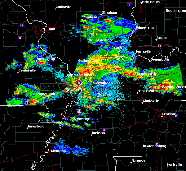 Radar Image for Severe Thunderstorms near Neelyville, MO at 3/2/2020 9:16 PM CST