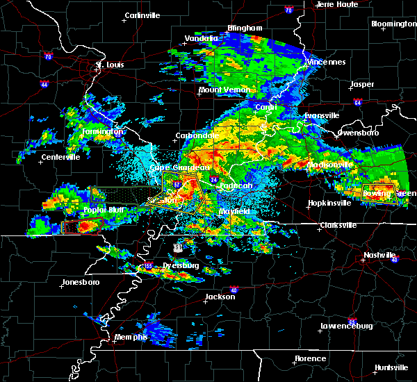 Radar Image for Severe Thunderstorms near Harviell, MO at 3/2/2020 9:29 PM CST