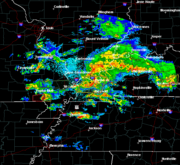 Radar Image for Severe Thunderstorms near Harviell, MO at 3/2/2020 9:54 PM CST