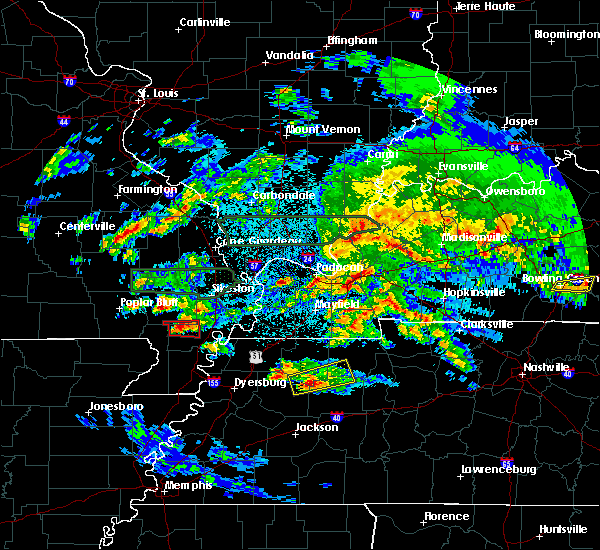 Radar Image for Severe Thunderstorms near Risco, MO at 3/2/2020 10:24 PM CST