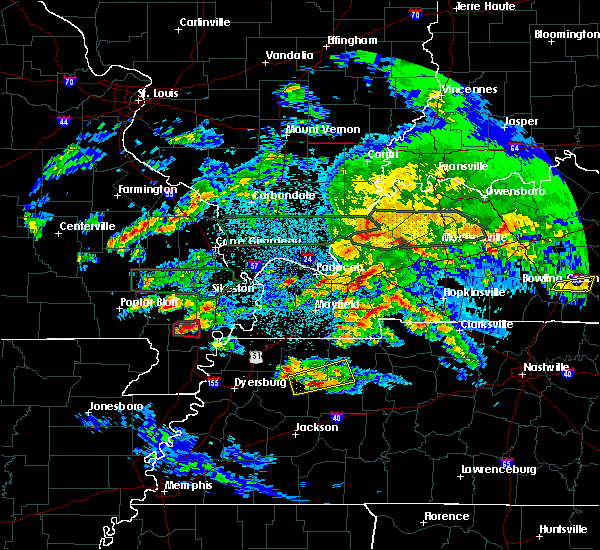 Radar Image for Severe Thunderstorms near Henry, TN at 3/2/2020 10:30 PM CST