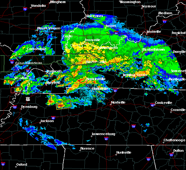 Radar Image for Severe Thunderstorms near Bruceton, TN at 3/2/2020 10:59 PM CST