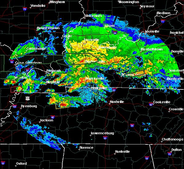 Radar Image for Severe Thunderstorms near Eva, TN at 3/2/2020 11:05 PM CST