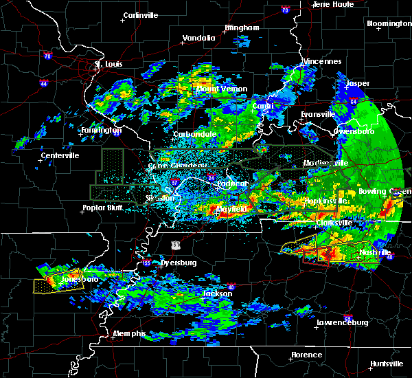 Radar Image for Severe Thunderstorms near Sedalia, KY at 3/3/2020 12:16 AM CST