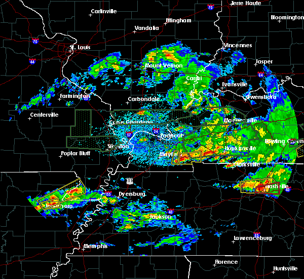 Radar Image for Severe Thunderstorms near Benton, KY at 3/3/2020 12:38 AM CST