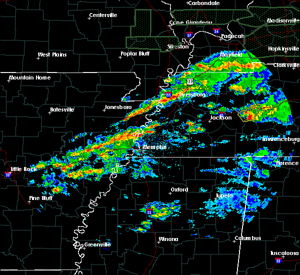Radar Image for Severe Thunderstorms near Turrell, AR at 3/3/2020 1:53 AM CST